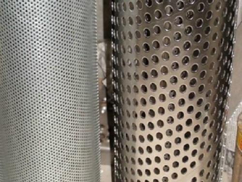 金属卷板冲孔网