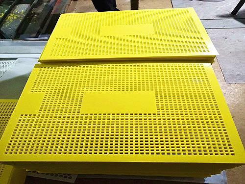 塑料冲孔板塑料板冲孔网圆孔