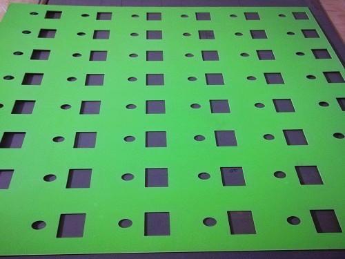 pvc冲孔板,聚氯乙烯冲孔网
