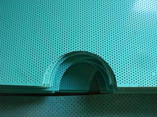 塑料冲孔板装饰网