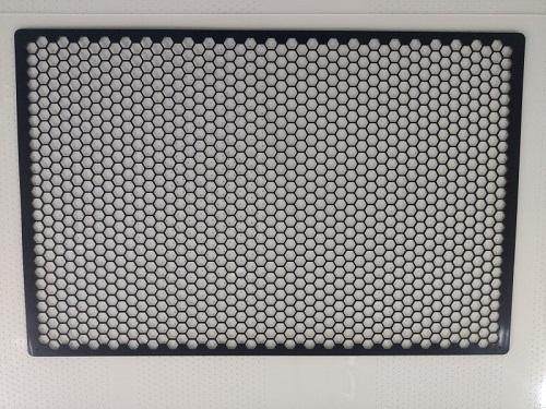 塑料冲孔板玻纤六边形孔