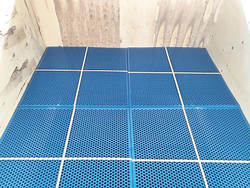 蓝色塑料杀菌锅隔板