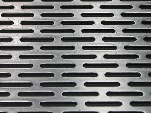 长腰形孔塑料冲孔板