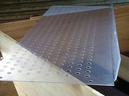 透明pvc板冲孔网