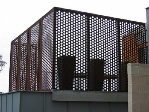 防风抑尘冲孔网应用案例