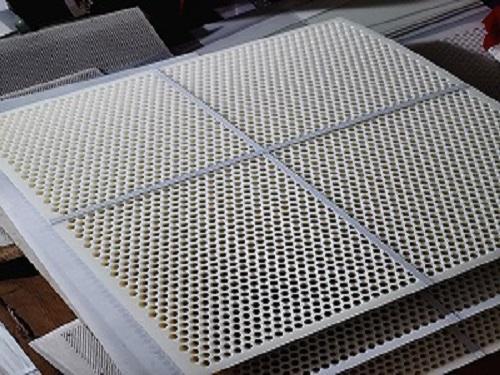 塑料冲孔网形式杀菌锅隔板