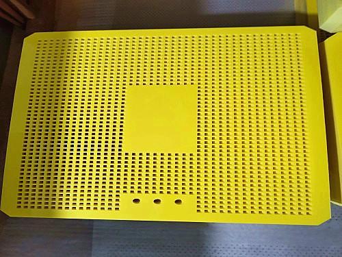黄色杀菌锅隔板产品案例